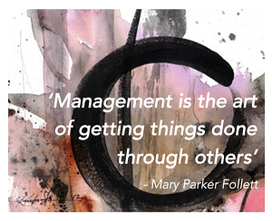 Management is the art